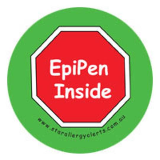EpiPen Inside Badge Pack