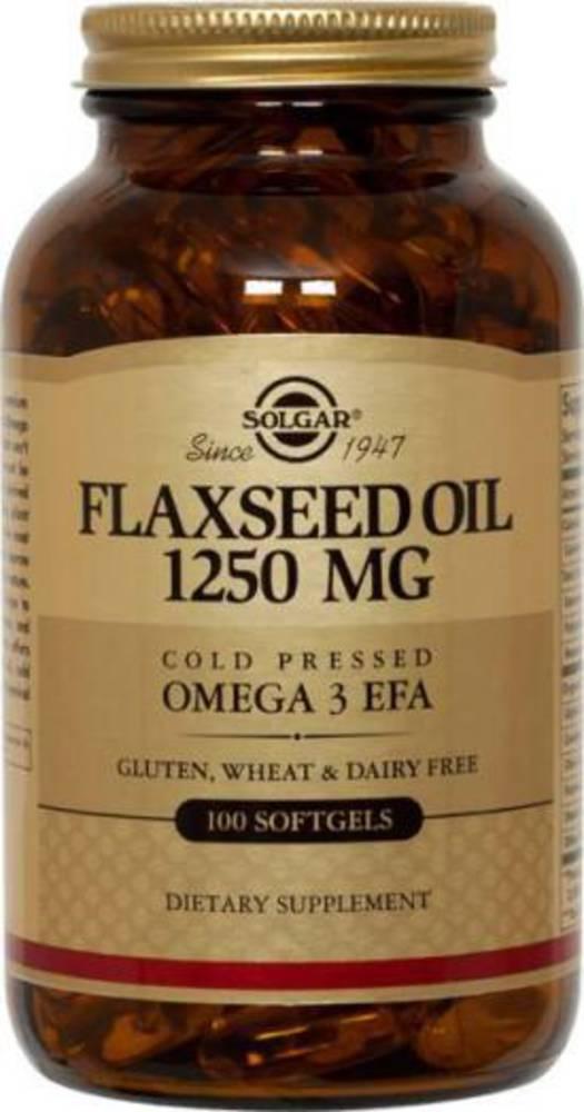 Solgar Flaxseed Oil 1250mg 100s