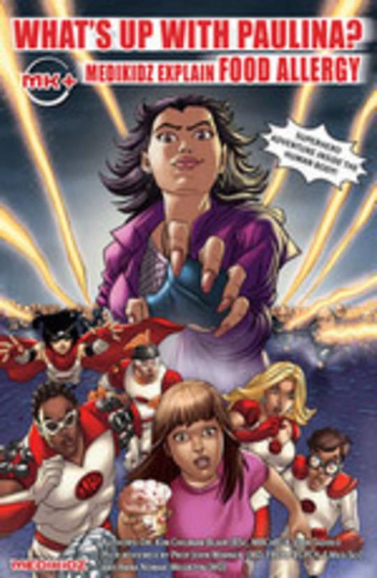Medikidz Food Allergy Comic Book