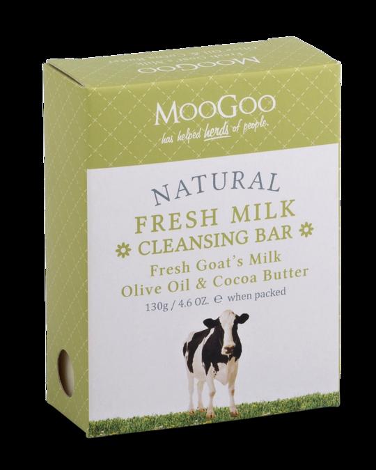 MooGoo fresh goat's milk cleansing bar