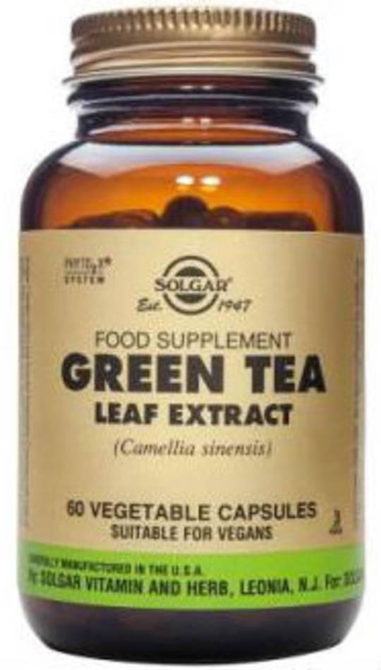 Solgar Green Tea Leaf Extract Vegicaps 60