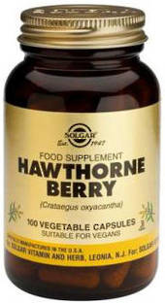 Solgar Hawthorne Berry 520mg 100 Vegicaps
