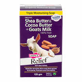 Hopes Relief Shea Butter & Cocoa Butter plus Goats Milk 125gm
