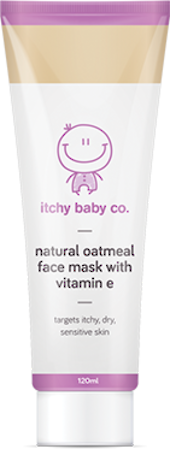 Itchy Baby Co. Natural Oatmeal Face Mask with Vitamin E 120ml