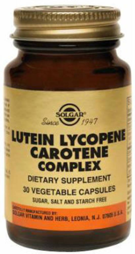 Solgar Lutein Lycopene Carotene Complex 30