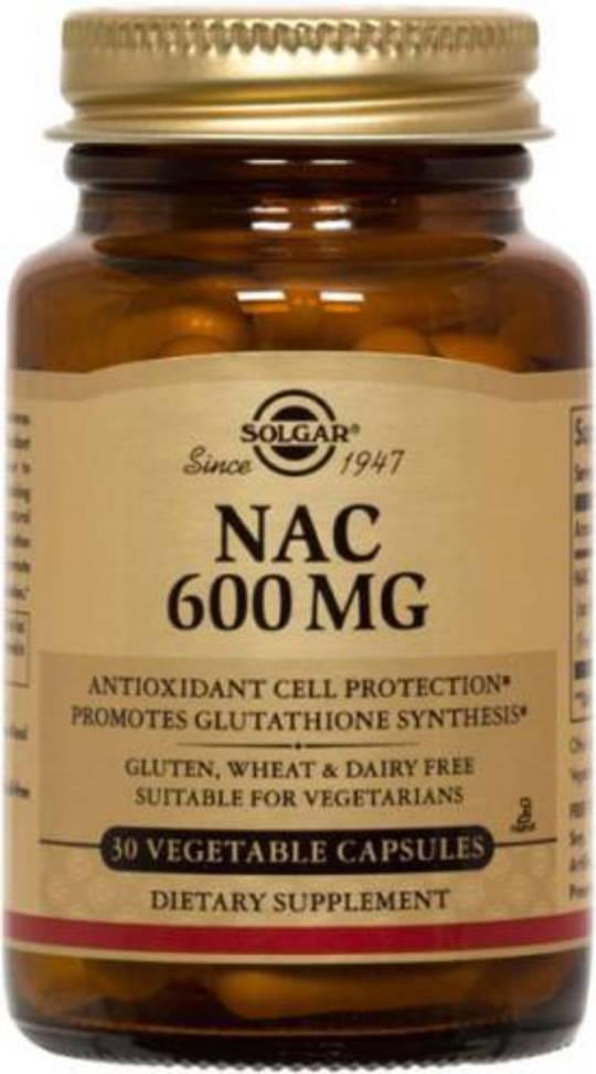 Solgar N-Acetyl-L-Cysteine (NAC) 600mg 60
