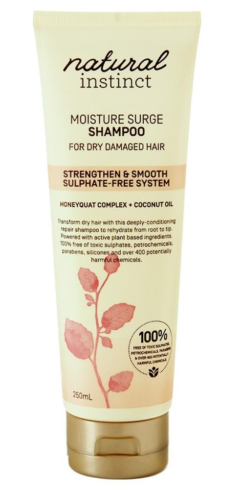 Natural Instinct Moisture Surge Shampoo 250ml