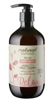 Natural Instinct Relax Body Wash 500ml
