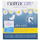 Natracare Ultra Pads Super 12