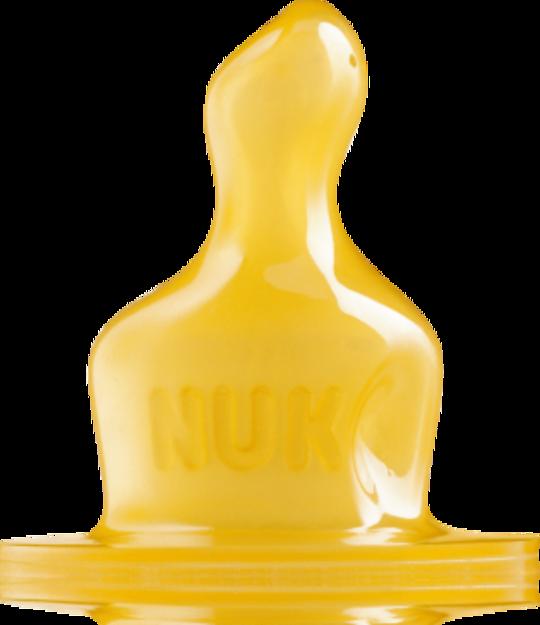 NUK Classic Anti-Colic  Latex Teat 2 pack
