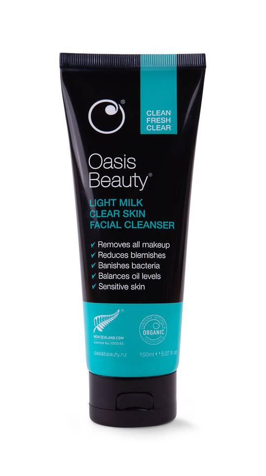 Oasis beauty Light Milk Clear Skin Facial Cleanser 150ml
