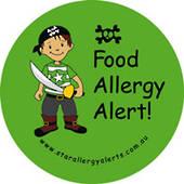 Food Allergy Alert! Sticker Pack
