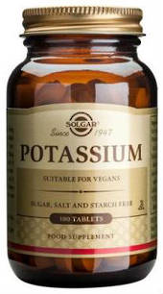 Solgar Potassium 100