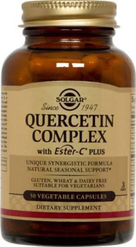 Solgar Quercetin Complex 50 Vege Caps