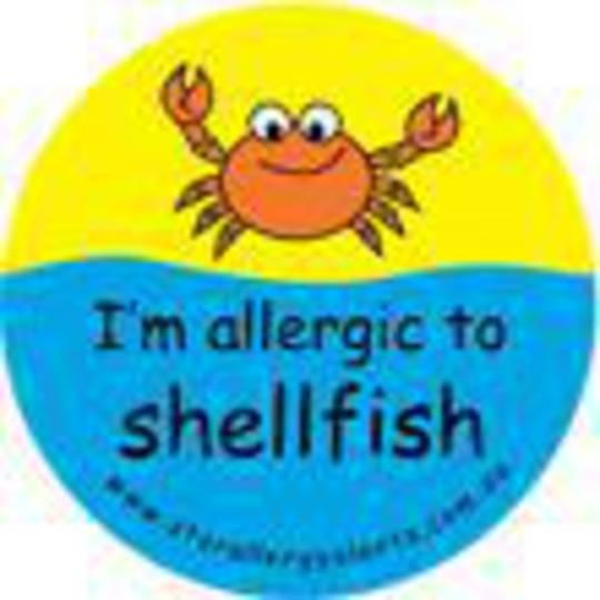I'm Allergic to Shellfish Sticker Pack