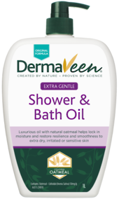 DermaVeen Shower and Bath Oil 500ml