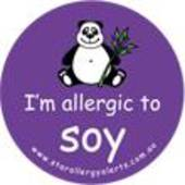 I'm Allergic to Soy Badge Pack