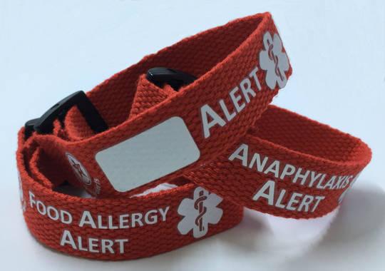 Alert Wristband - various options