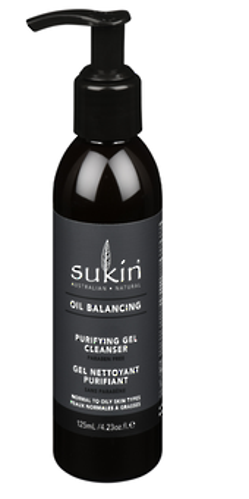 Sukin Oil Balancing Purifying Gel Cleanser 125ml