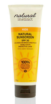 Natural Instinct Natural Kids SPF30 Sunscreen