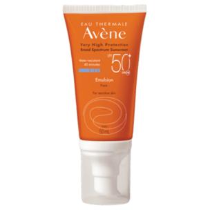 Avene Sunscreen SPF 50+ Emulsion Face 50ml