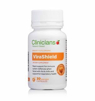 Clinicians ViraShield 30 Vegetable Capsules