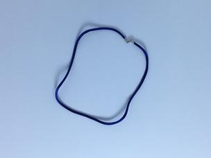 Satin Necklace Blue or Lavender