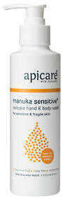 Apicare Manuka Sensitive Hand & Body Wash 250ml