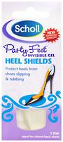 Scholl Party Feet Invisible Gel Heel Shields