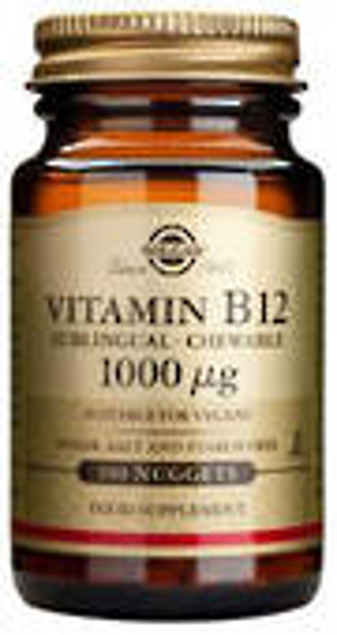 Solgar Vitamin B12 nuggets 1000mcg 100