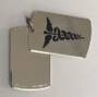 Stainless steel medical ID double dog tag