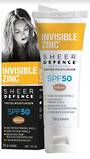 INVISIBLE ZINC® Sheer Defence Tinted Moisturiser SPF 50 – MEDIUM 50g