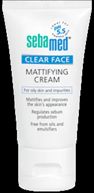 Sebamed Clear Face Mattifying Cream 50ml