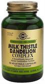 Solgar Milk Thistle, Dandelion Complex 50 Vegicaps