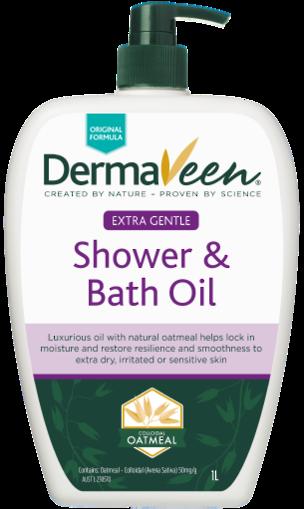 DermaVeen Shower and Bath Oil 500ml