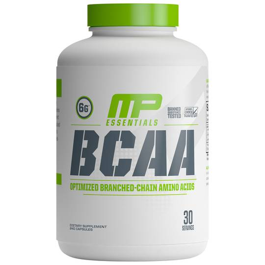 MP BCAA capsules 30 servings