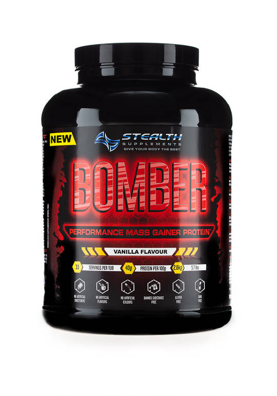 Stealth Bomber Perfomance Mass Gainer protein