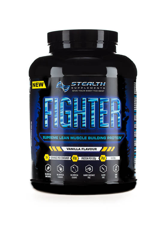 Stealth Fighter supreme Lean Isolate whey Protein