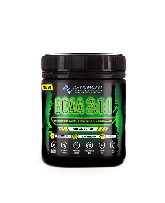 Stealth BCAA 2:1:1 unflavoured