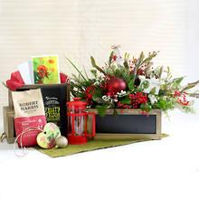 Christmas Pohutukawa Inspired Gift Box