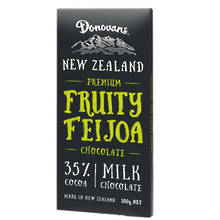 Donovans  Feijoa Milk Chocolate Block 100g