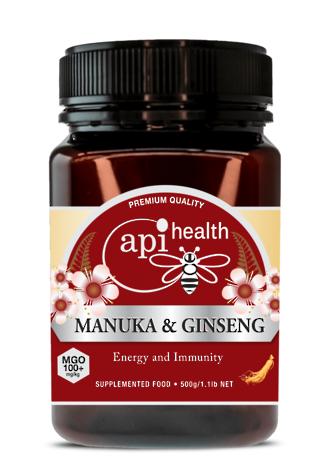 Manuka & Ginseng 500g