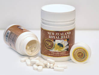 New Zealand Royal Jelly  Chewable Tablets 120  x 1000 mg
