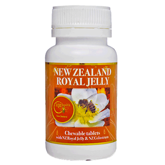 New Zealand Royal Jelly Chewable Tablets 60 x 1000 mg
