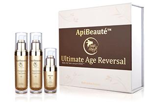 ApiBeaute' Gift-box with Moisturizing Day Cream and Regenerating Night Cream and Firming Eye Cream