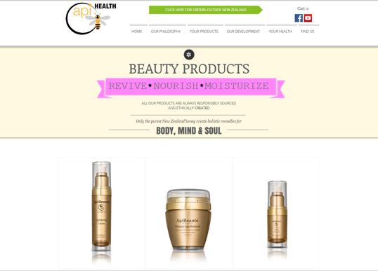 Api-shop Beauty products