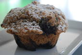Blueberry and Bran Muffin