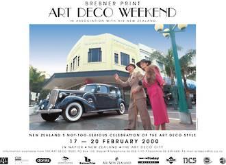 2000 Art Deco Weekend Poster