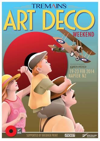 2014 Art Deco Weekend Poster