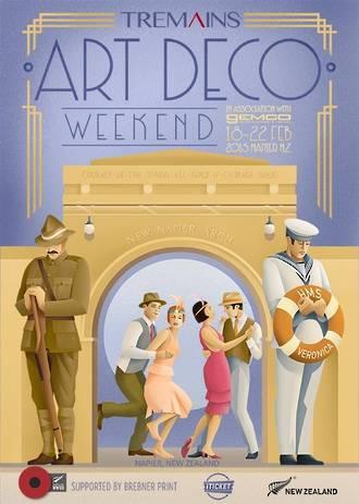 2015 Art Deco Weekend Poster